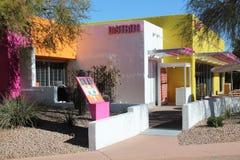Ciudad vieja Scottsdale, Arizona fotografía de archivo libre de regalías