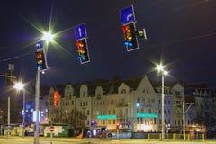 Ciudad vieja - Szczecin, Polonia Fotografía de archivo