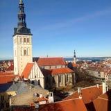Ciudad vieja Tallin Imagenes de archivo