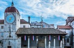Ciudad vieja Trogir, Croatia Fotos de archivo