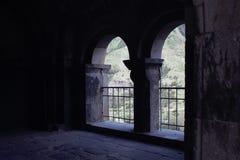 Ciudad vieja y ciudad de la cueva imagen de archivo libre de regalías