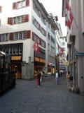 Ciudad vieja Zurich fotos de archivo libres de regalías