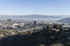 Ciudad y Burbank universales California Imagenes de archivo