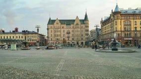 Ciudad y centro de Tampere Fotos de archivo