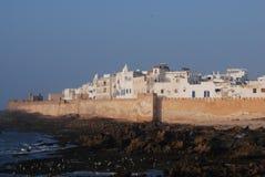 Ciudad y costa costa de Essaouira fotos de archivo libres de regalías