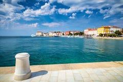 Ciudad y puerto de Porec en el mar adriático en Croacia Fotos de archivo