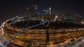 Ciudad Yoido de Seul almacen de video