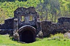 Ciudadela Cisnadioara Fotografía de archivo libre de regalías