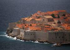Ciudadela de Dubrovnik Imagen de archivo libre de regalías