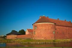 Ciudadela de Landskona Fotos de archivo libres de regalías