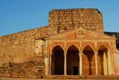 Ciudadela de Mérida, España foto de archivo
