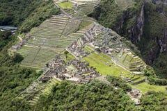 Ciudadela de Machupicchu Imagenes de archivo