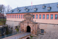 Ciudadela de Petersberg en Erfurt, entrada principal Foto de archivo libre de regalías