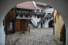 Ciudadela de Prejmer, Rumania imagenes de archivo