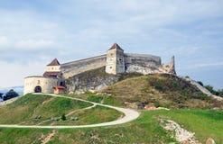 Ciudadela de Rasnov imagen de archivo libre de regalías