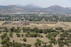 Ciudadela de Teotihuacan Imagen de archivo libre de regalías