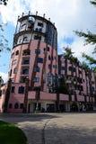 Ciudadela del verde del ` s de Hundertwasser de Magdeburgo imagen de archivo libre de regalías