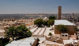 Ciudadela en Aleppo imágenes de archivo libres de regalías