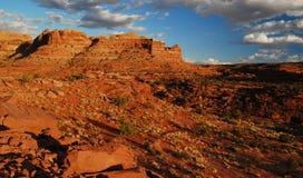 Ciudadela escénica del desierto Foto de archivo