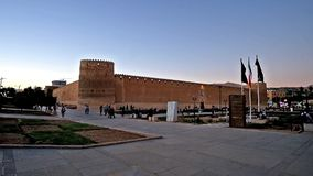 Ciudadela medieval de Karim Khan en Shiraz, Irán almacen de metraje de vídeo