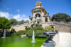 Ciudadela park in Barcelona Spain Stock Photo