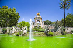 Ciudadela park in Barcelona Spain Stock Photography