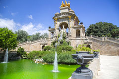 Ciudadela park in Barcelona Spain Royalty Free Stock Image