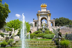 Ciudadela park in Barcelona Spain Royalty Free Stock Photo