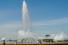 Ciudades de la capital del Brasil - de Brasilia - del Brasil foto de archivo libre de regalías