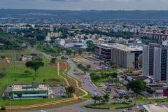 Ciudades del Brasil - Brasilia DF Fotos de archivo