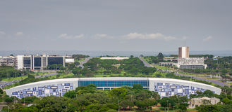 Ciudades del Brasil - Brasilia DF Imágenes de archivo libres de regalías