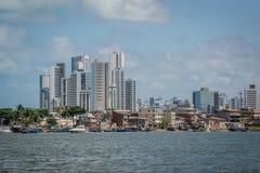 Ciudades del Brasil - Recife, la Capital del Estado de Pernambuco fotografía de archivo libre de regalías