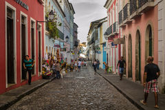 Ciudades del Brasil - Salvador, Bahía fotografía de archivo