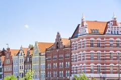 Ciudades famosas en Polonia - Gdansk - Danzig. Imagen de archivo libre de regalías
