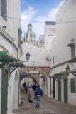 Ciudades hermosas en Marruecos septentrional, Tetouan foto de archivo libre de regalías