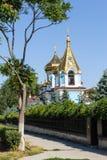 Ciuflea Monastery view Royalty Free Stock Photos