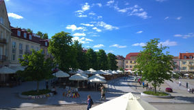 Ciuszki KoÅ› Rynek Στοκ Εικόνες
