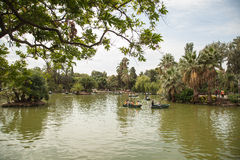Ciutadella公园在巴塞罗那 免版税库存照片