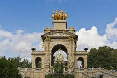 Ciutadella of Barcelona Royalty Free Stock Image