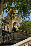 Ciutadella Barcelona Stock Afbeelding