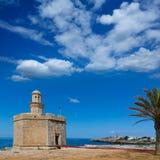 Ciutadella Castell de Sant Nicolas Castillo San Nicolas Stock Photos