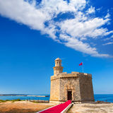 Ciutadella Castell de Sant Nicolas Castillo San Nicolas Stock Image