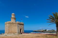 Ciutadella Castell de Sant Nicolas Castillo San Nicolas Royalty Free Stock Photography