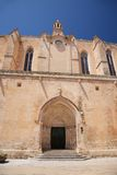 Ciutadella cathedral. Ciutadella city at Menorca island in Spain Royalty Free Stock Photos