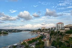 Ciutadella de menorca au cours de la journée Images libres de droits