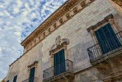 Ciutadella DE menorca in de loop van de dag Stock Fotografie
