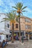 Ciutadella De Menorca podczas dnia, Hiszpania Zdjęcia Royalty Free