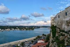 Ciutadella De Menorca podczas dnia, Hiszpania Obrazy Stock