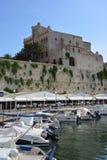 Ciutadella-Hafen Lizenzfreie Stockfotografie