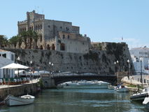 Ciutadella Harbour Royalty Free Stock Images